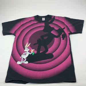Vintage Looney Toons Bugs Bunny T-shirt Graphics t